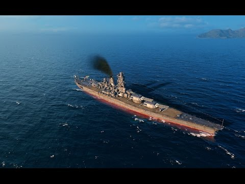 World Of Warships - IJN Yamato vs USS Montana