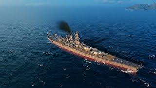 World Of Warships - IJN Yamato vs USS Montana
