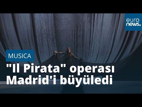 'Il Pirata' operası ile Sonya Yoncheva ve Javier Camarena Madrid'i büyüledi