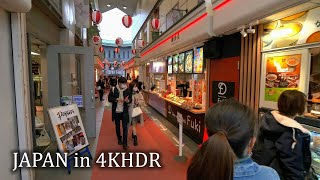 【4KHDR】Walking on old streets of Kamakura