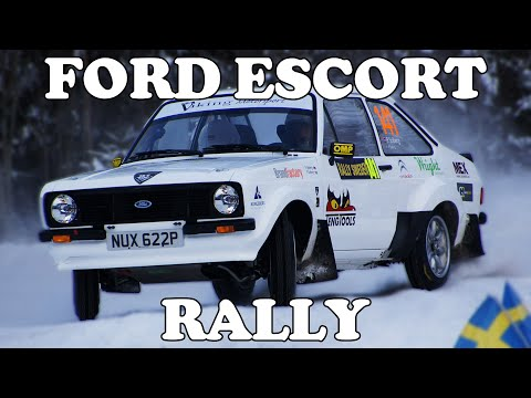 Ford Escort Rallying [PURE ENGINE SOUND]