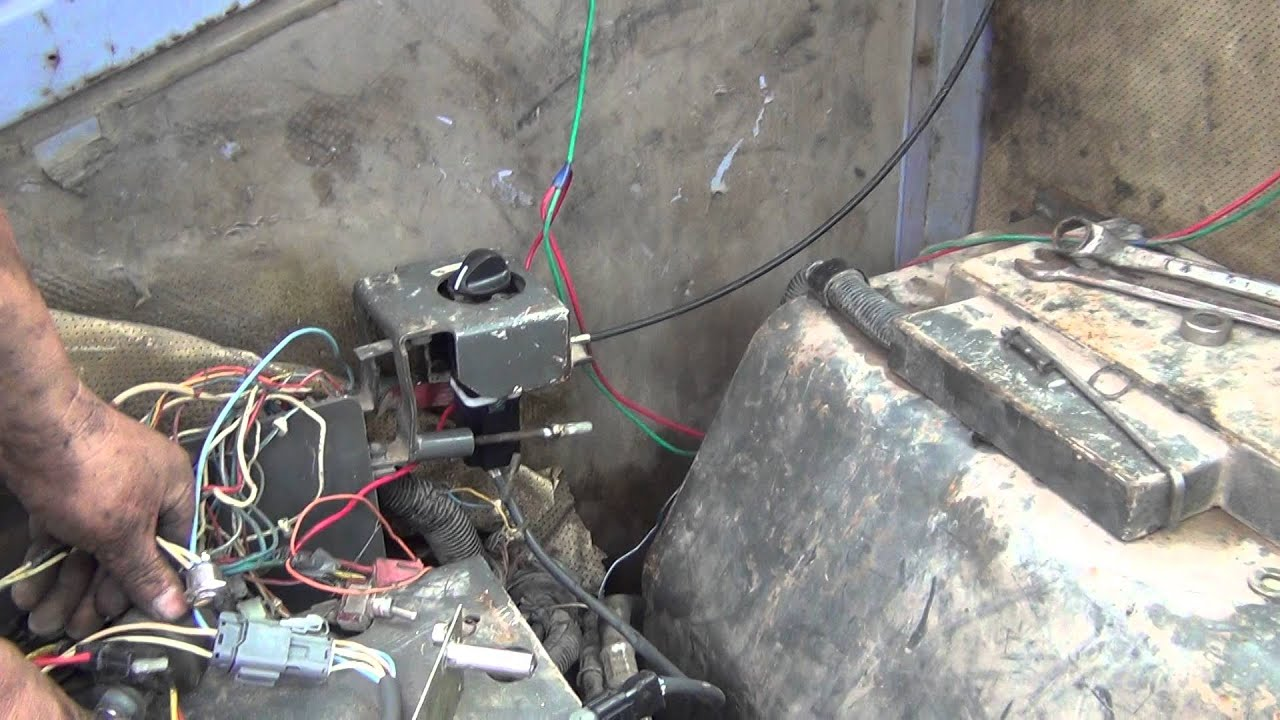 Case Backhoe Wiring Diagram Throttle Third Level Excavator Motor Youtube Engine