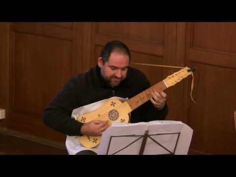 Soneto by Valderrábano performed by Alfred Fernández, vihuela