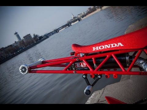 Тест-драйв Honda MSX125 Grom - Питбайк по цене мотоцикла. - YouTube
