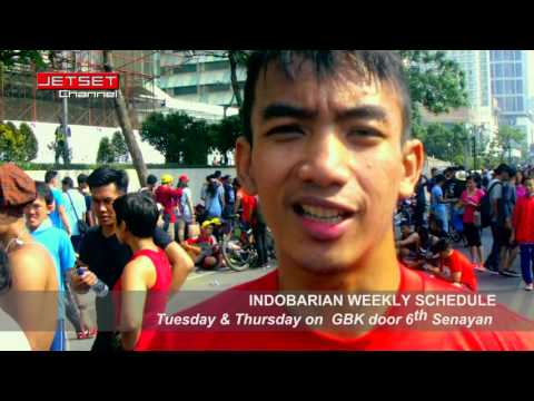 Entertainment, Sport & Lifestyle in Jakarta Car Free Day, Weekly Early Morning, Indobarian Community