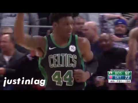 Robert Williams 2018-2019 NBA Regular Season Highlights - Time Lord