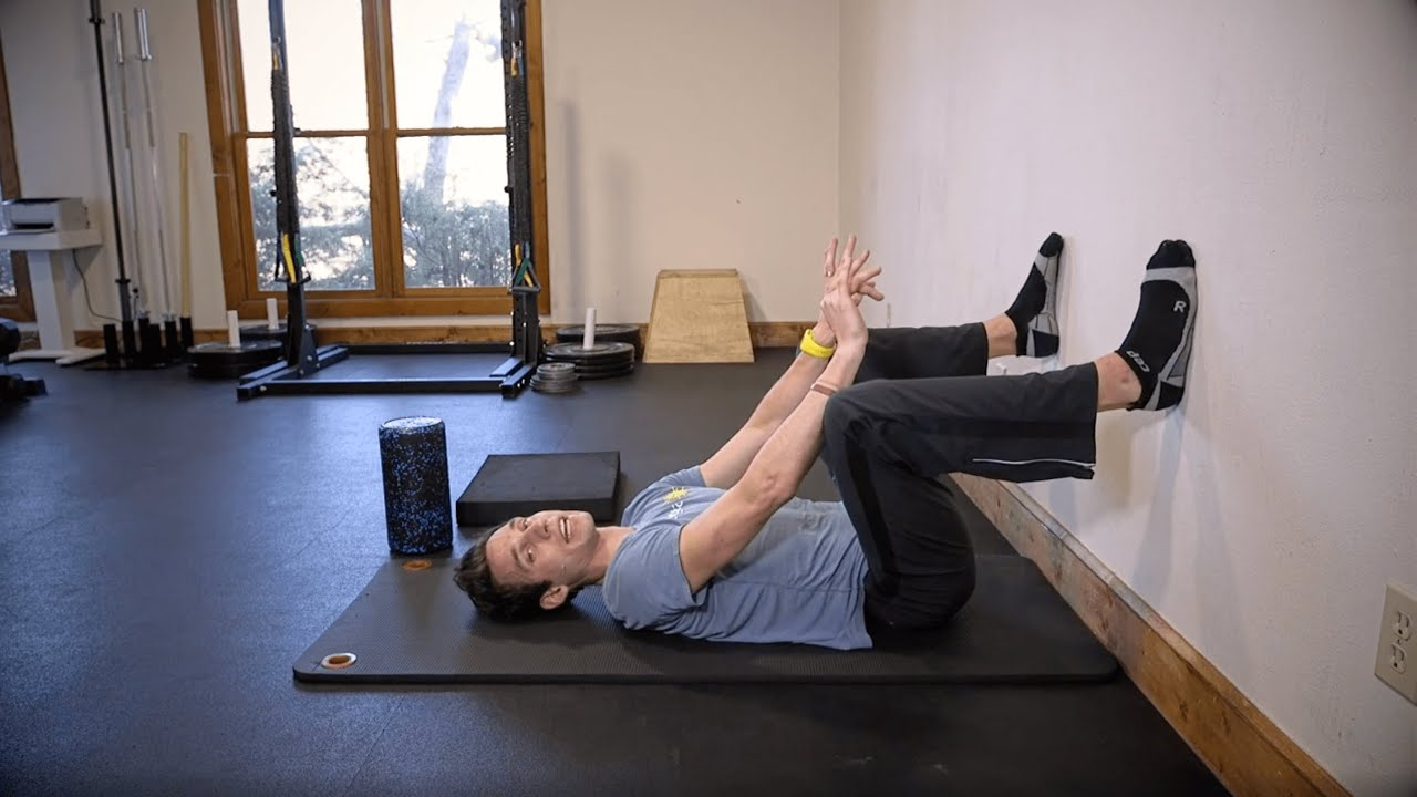 Mobility Routine: Hips on Wall