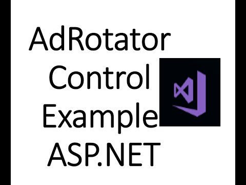 Adrotator and adrepeater control in asp. Net for msc cs.