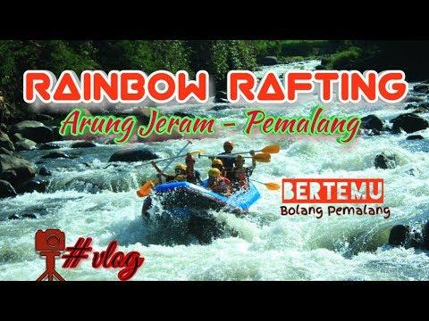 Rainbow Rafting Sungai Comal Jeram Batu Tapa Youtube
