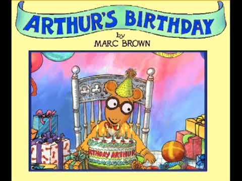 Arthur's Birthday - Party Supply Store (CD Audio)