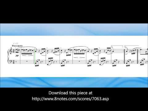 Fur Elise by Ludwig Van Beethoven - sheet music video