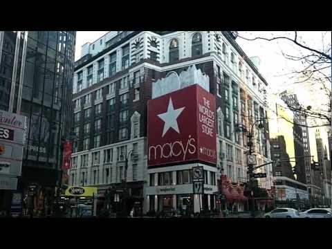 Macy's Herald Square NYC Part 1 of 2