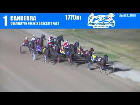 CANBERRA - 09/04/2018 - Race 1 - QUEANBEYAN PRE MIX CONCRETE PACE