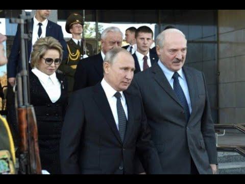 Путин - Лукашенко / Беларусь и Россия готовятся к интеграции  / 15+