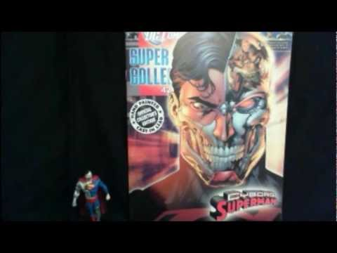 "Issue 42 - Cyborg Superman ""MonkeyBoy"" Reviews DC Comics Super Hero Collection by Eaglemoss"