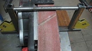 Making Of A Belt Grinder Stand