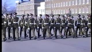 "17 TRAINING REGT RA   24 IRISH BATTERY  ""PASSING OUT""  1990"