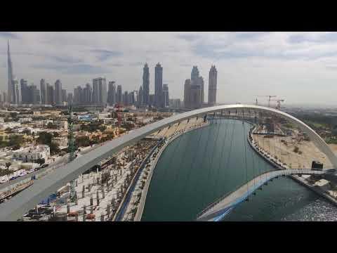 DUBAI drone view
