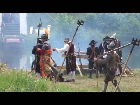 80 year war reenactment  Bourtange/ the Netherlands