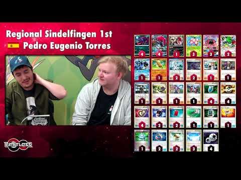 Pokémon TCG Regional Stuttgart Winner Interview Pedro Eugenio Torres