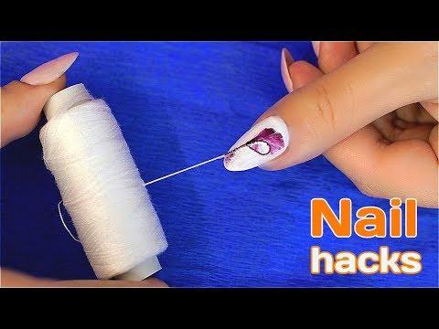 Видео рисунки на ногтях в домашних условиях для новичков