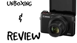 unboxing my new vlog camera canon g7x mini review