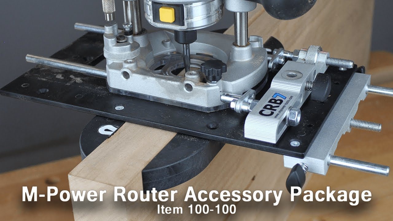 CRB7 Combination Router Jig Mk3