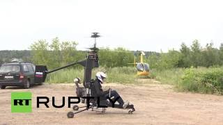 Russia: Bond, eat your heart out! See the ultra-light gyrocopter revolutionising air travel