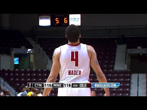 Maine Red Claws with 21 3-pointers against the Charge