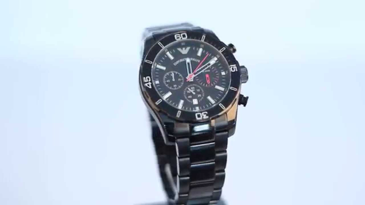 3d86df4d0bf Emporio Armani watches AR5931 FULL HD VIDEO - HOW TO SPOT FAKE ...