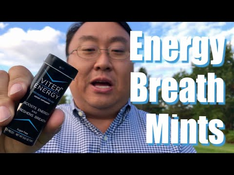Viter Energy Wintergreen Caffeinated Sugar Free Breath Mints Review
