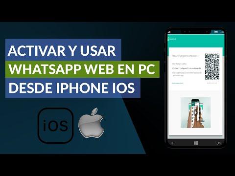 Cómo Activar y Usar WhatsApp web en un Ordenador Desde mi iPhone iOS