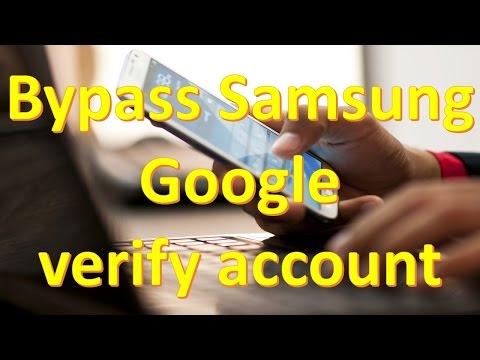 Bypass Samsung Google verify account   NO OTG   NO ODIN   NO SOFTWARE