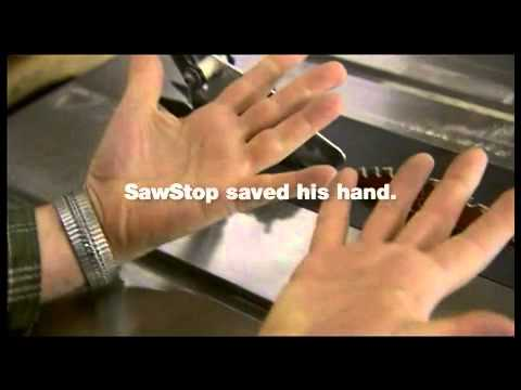 Sawstop Demo Presented By Woodcraft Youtube