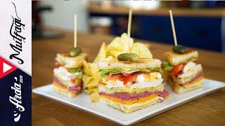 Club Sandwich - Arda'nın Mutfağı