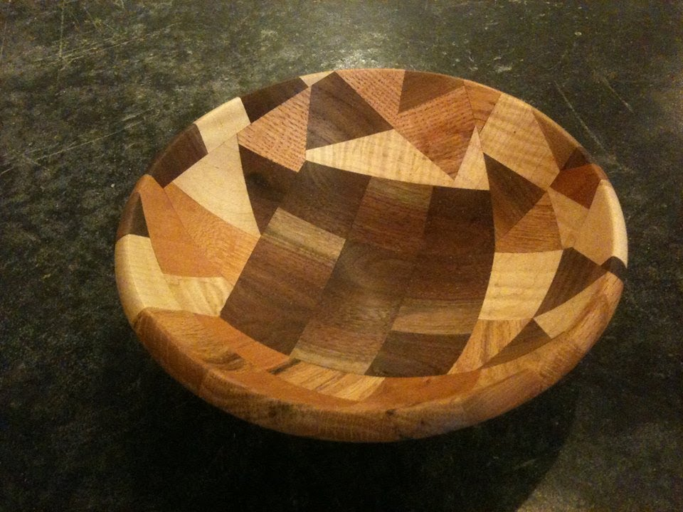 Wood Bowl From Scrap