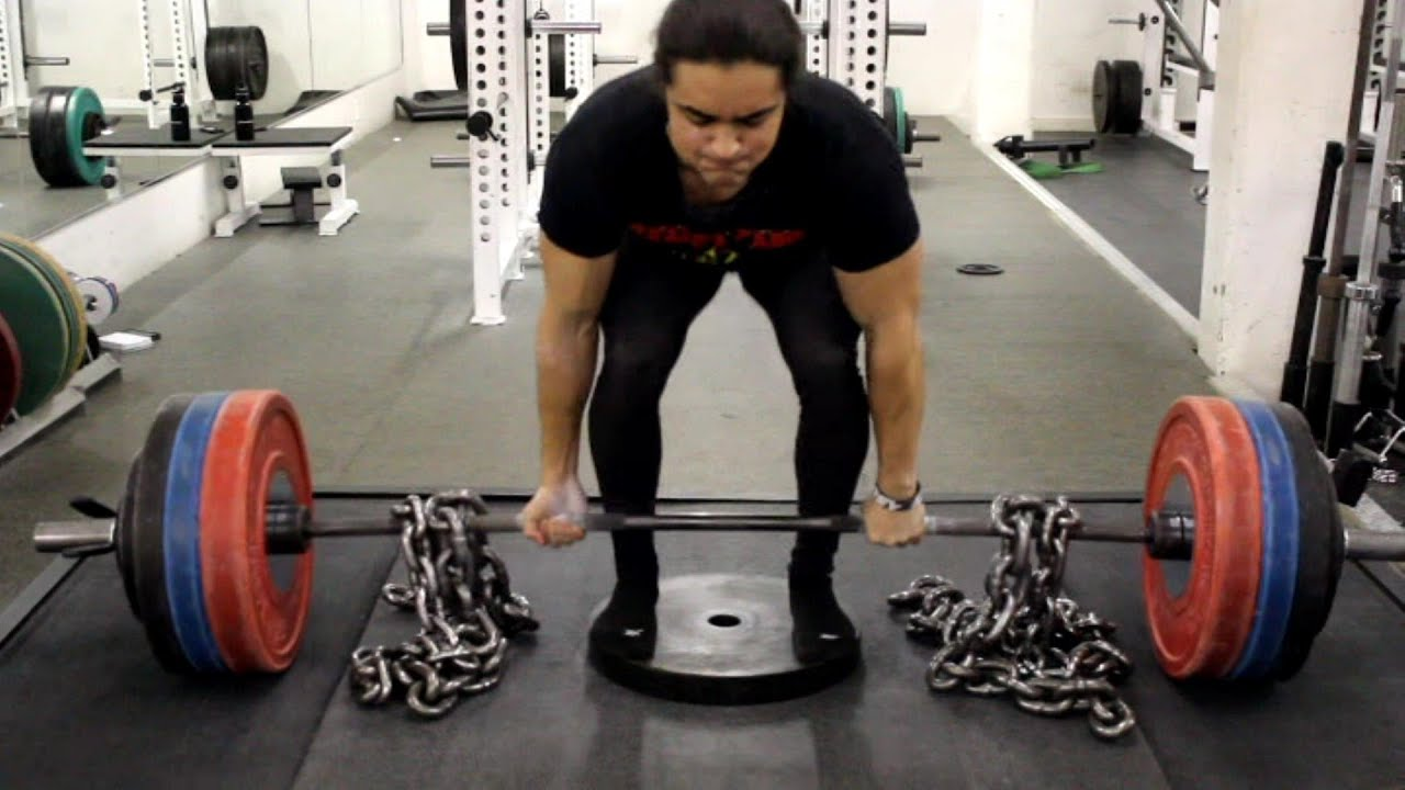 the deficit deadlift 1 deadlift assistance exercise