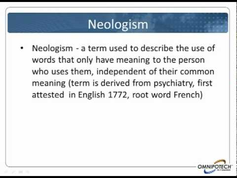 Neologism Definition  Crossword Dictionary