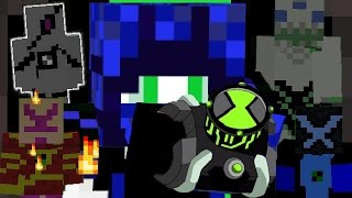 Ben 10 3.0 Transform into 4 aliens! In only one command [Minecraft 1.9]