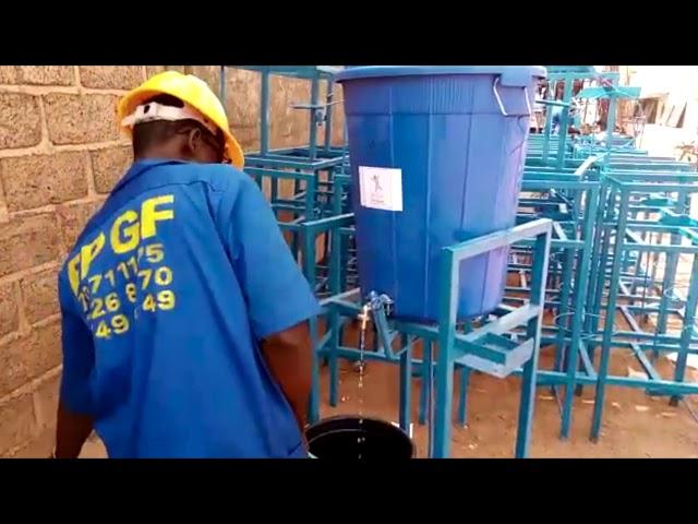 Burkina Faso : Lancement d'une opération « Mains Propres face au COVID19 » pour 71 000 habitants