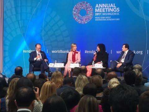 Ivanka Trump launches USD 1bn Women Entrepreneurs Finance Initiative (We-FI) #WorldBank