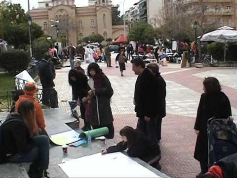 free bazar in Kesariani,Athens