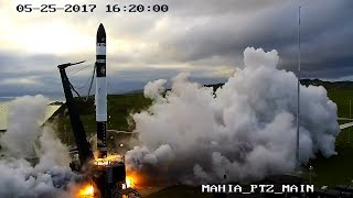 Rocket Lab Electron rocket - first flight from Rocket Lab Launch Complex 1, Mahia New Zealand