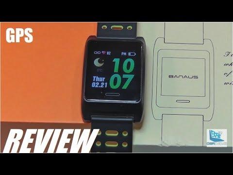 REVIEW: BANAUS W10 - Budget GPS Sports Smartwatch