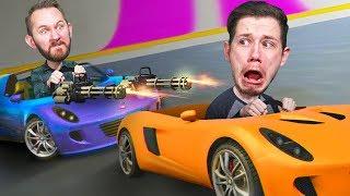 SUPER CAR SHOOTOUT!   GTA 5 [Ep 13]