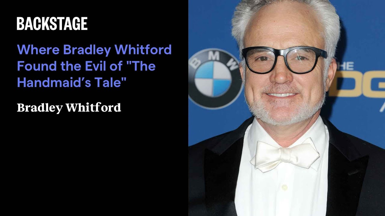 """Where Bradley Whitford Found the Evil of """"The Handmaid's Tale"""""""