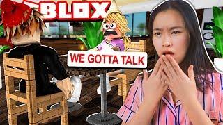 I confronted my EX BOYFRIEND!! (Roblox Bloxburg Roleplay)