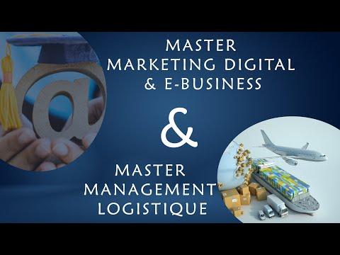Master Marketing Digital & Management logistique FSJES Marrakech