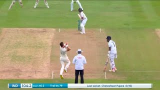 India vs England 1st Test, Day 2 Highlights   James Anderson 2 Wickets Restrict IND 125/4 at Stumps