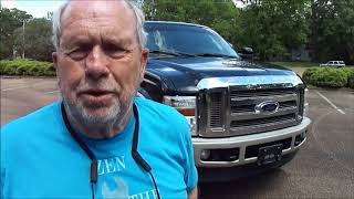 2009 Ford F250 King Ranch Test Drive